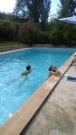 vacances, Cotignac, famille